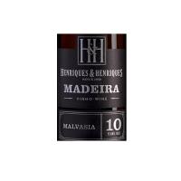 Henriques Henriques Malmsey 10 Anos Madeira