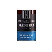 Henriques Henriques Medium Dry 3 años Madeira