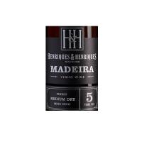 Henriques Henriques Medium Dry 5 anni Madeira