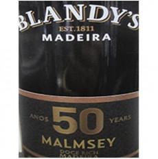 Blandys 50 ans Malmsey Madeira