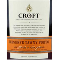 Croft Tawny Reserve Port