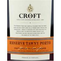 Croft Tawny Reserve Port