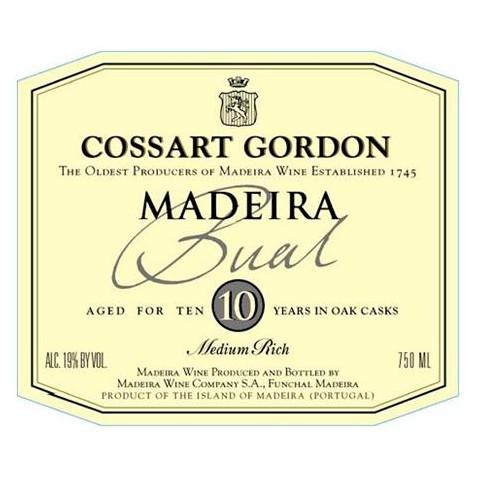 Cossart Gordon 10 years...