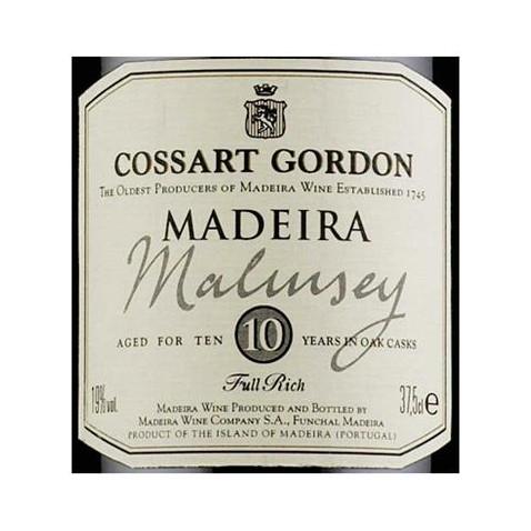Cossart Gordon 10 ans...