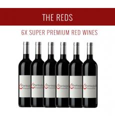 Os Tintos - Uma seleção de 6x vinhos Super Premium