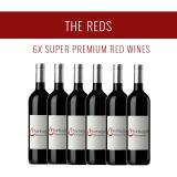 Die Rotweine - Eine Auswahl von 6x Super Premium Weinen