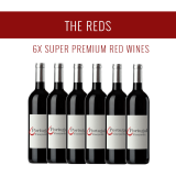 The Reds - A selection of 6x Super Premium wines