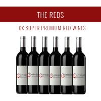 Les Rouges - Une sélection de 6x vins Super Premium