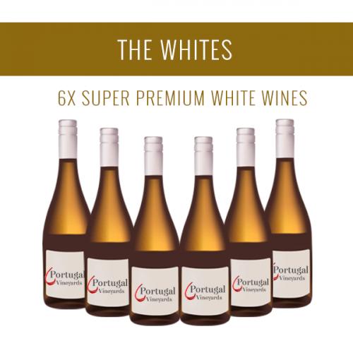 Os Brancos - Uma seleção de 6x vinhos Super Premium