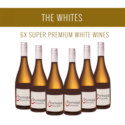The Whites - A selection of 6x Super Premium wines