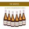 Die Weißen - Eine Auswahl von 6x Super Premium-Weinen
