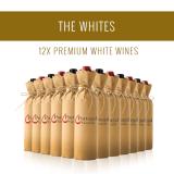 Los Blancos - Una selección de 12x vinos Premium