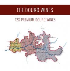El Douro - Una selección de 12x vinos premium
