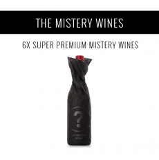 The Mystery wines - A selection of 6x Super Premium wines