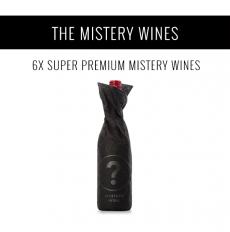 Los Vinos Misterio - Una selección de 6x vinos Super Premium