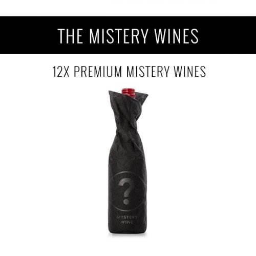 Los Vinos Misterio - Una selección de 12x vinos premium