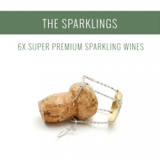 The Sparklings - A selection of 6x Super Premium wines