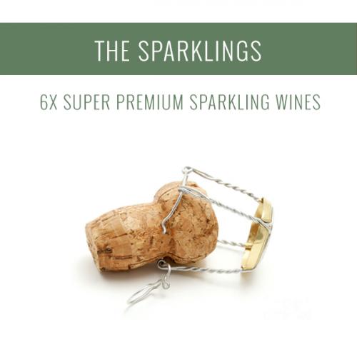 Los Espumosos - Una selección de 6x vinos Super Premium