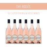 Die Roséweine - Eine Auswahl von 6x Super Premium Weinen