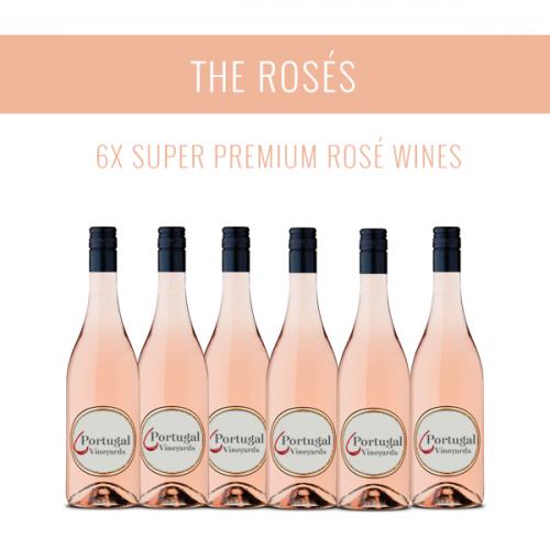Los Rosados - Una selección de 6x vinos Super Premium