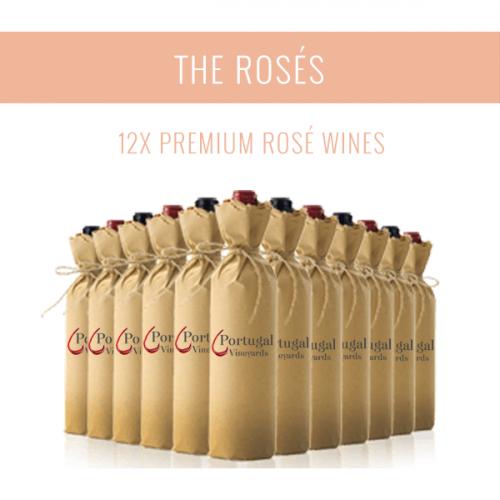 Die Roséweine - Eine Auswahl von 12x Premium-Weinen