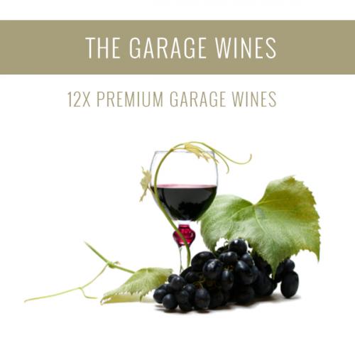 Os Vinhos de Garagem - Uma seleção de 12x vinhos Premium