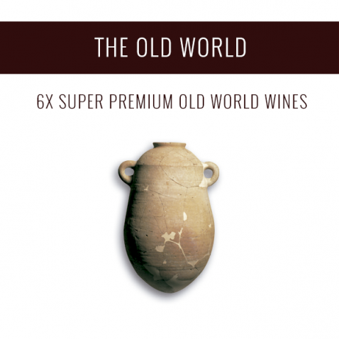 The Old World - A selection of 6x Super Premium wines