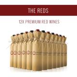 Les Rouges - Une sélection de 12x vins premium