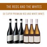 Die Rot und die Weiß - Eine Auswahl von 6x Super Premium Weinen