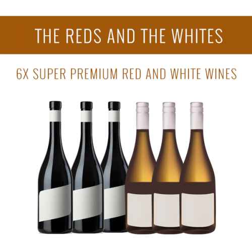 Los Tintos y los Blancos - Una selección de 6 vinos Super Premium