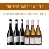 Os Tintos e os Brancos - Uma seleção de 6x vinhos Super Premium