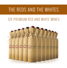 The Reds and The Whites - A selection of 12x Premium wines