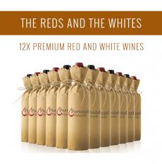 Les Rouges et les Blancs - Une sélection de 12x vins Premium