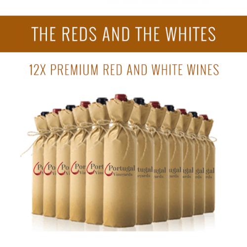 Los Tintos y los Blancos - Una selección de 12x vinos premium