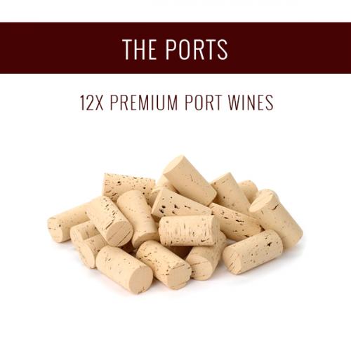 Die Portweine - Eine Auswahl von 12x Premium-Weinen
