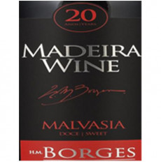 H M Borges Malmsey 20 years...