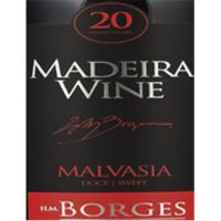 H M Borges Malmsey 20 Anos Madeira