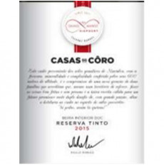 Casas do Côro Reserve Red 2015