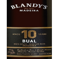 Blandys 10 years Bual Madeira