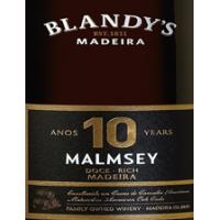 Blandys 10 años Rich Malmsey Madeira