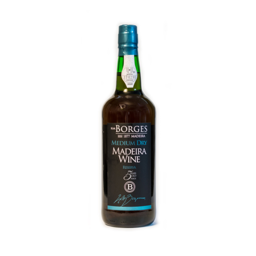 H M Borges Reserve 5 years Medium Dry Madeira