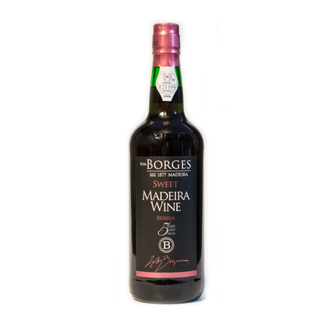 H M Borges Reserva 5 Anos Doce Madeira
