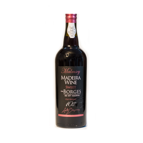 H M Borges Malmsey 10 years old Madeira