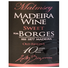 H M Borges Malmsey 10 years...