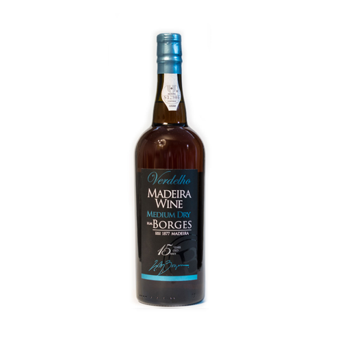 H M Borges Verdelho 15 years old Madeira