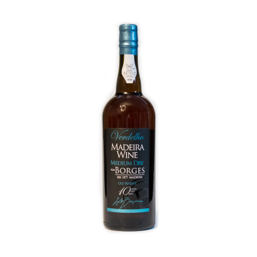 H M Borges Verdelho 10 years old Madeira