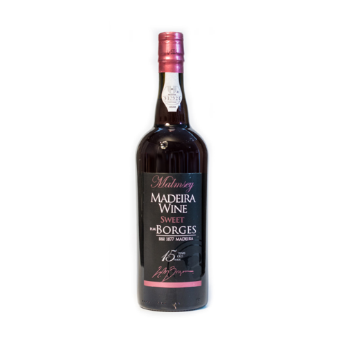H M Borges Malmsey 15 years old Madeira