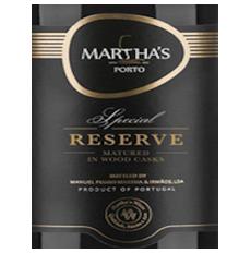 Marthas Special Reserve...