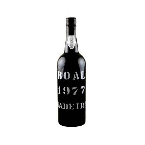 H M Borges Boal Colheita Madeira 1977