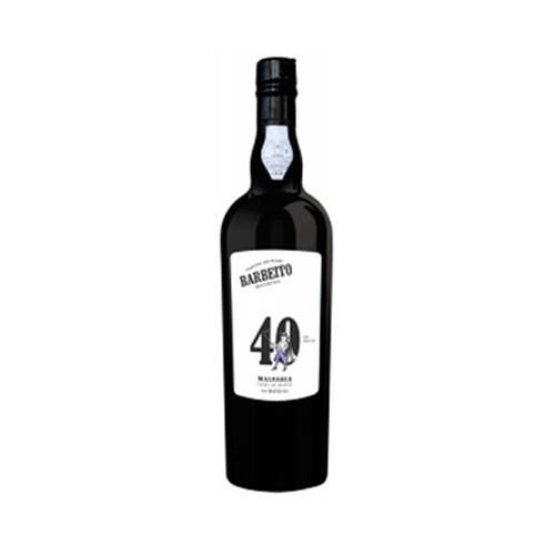Barbeito Malvasia Vinha do Reitor 40 ans Madeira